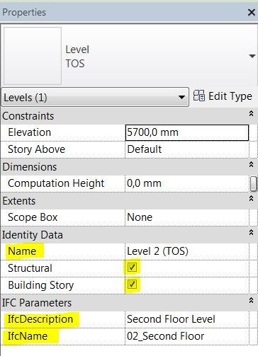 Modeling Structure in Revit: 2  Set Levels and Grids - engipedia